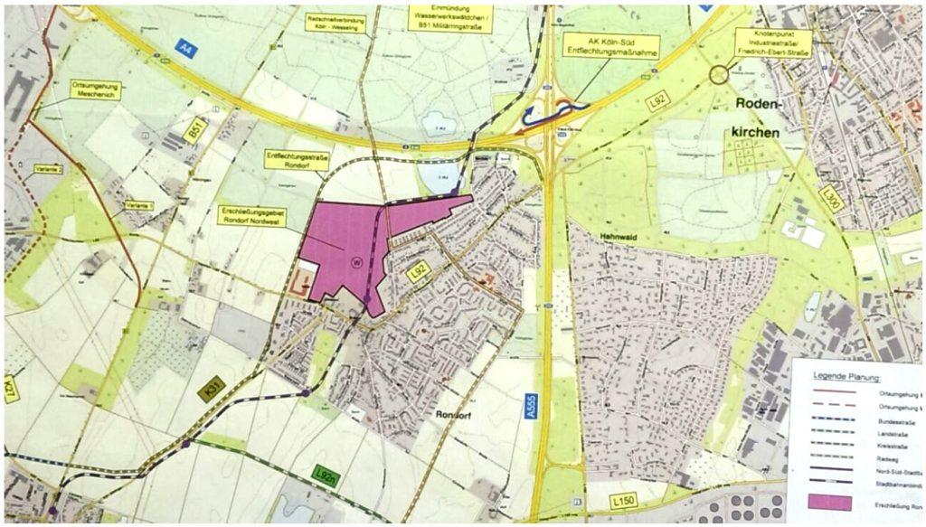 Neubau-Plan Rondorf Nordwest